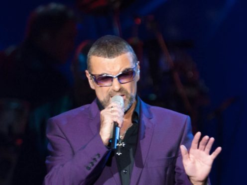 George Michael during his Symphonica, The Orchestral Tour (Ryan Phillips/PA)