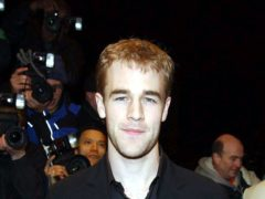 Actor James Van Der Beek has praised his wife after she suffered a miscarriage (Ian West/PA)