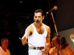 A letter Freddie Mercury wrote to the Queen fan club a year before his death is expected to fetch £3,000 at auction (PA)