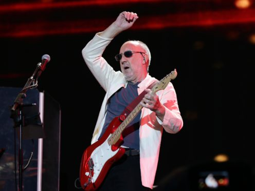 Pete Townshend wanted his band to be about the music. (Yui Mok/PA)