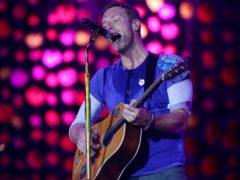 Coldplay frontman Chris Martin (Yui Mok/PA)