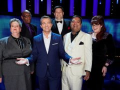Bradley Walsh with the panel of The Chase (ITV/PA)
