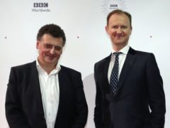 Steven Moffat (left) and Mark Gatiss (Peter Byrne/PA)