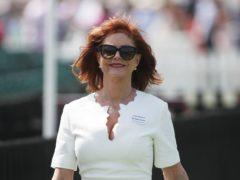 Hollywood actress Susan Sarandon has been forced to pull out of an event in support of US presidential hopeful Bernie Sanders after being injured in a fall (Steve Parsons/PA)