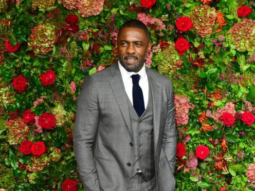 Idris Elba is set to star in an all-black Western film, Netflix has announced (Ian West/PA)