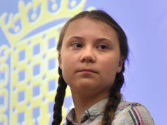 Climate activist Greta Thunberg (Stefan Rousseau/PA)
