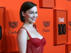 Emilia Clarke (Greg Allen/PA)
