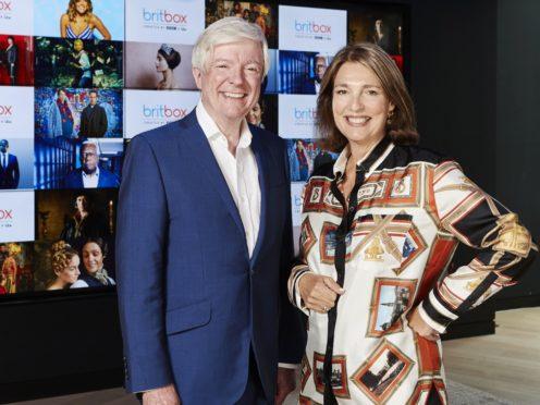 BBC Director General Tony Hall and ITV CEO Carolyn McCall (Matt Frost/ITV/PA)