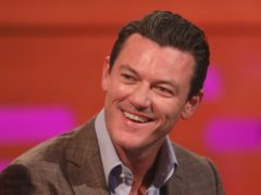 Actor Luke Evans (Isabel Infantes/PA)