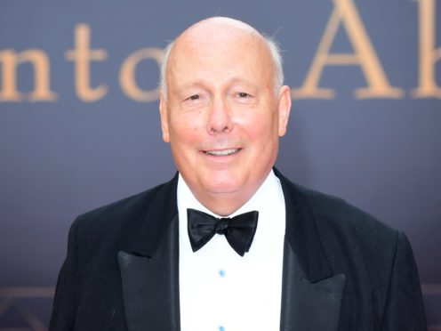 Julian Fellowes said he wanted to raise awareness of the condition (Ian West/PA)