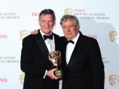 Sir Michael Palin with Terry Jones (Ian West/PA)