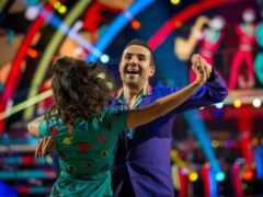 Will Bayley in Strictly Come Dancing with professional partner Janette Manrara (Guy Levy/BBC/PA)