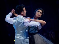 Anton Du Beke and Emma Barton on Strictly Come Dancing (Guy Levy/BBC/PA)