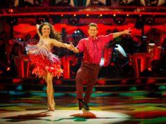 Mike Bushell and Katya Jones (Guy Levy/BBC)