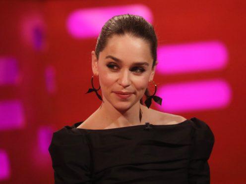 Emilia Clarke stars in Last Christmas (Isabel Infantes/PA)