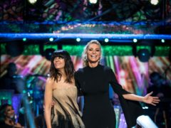Tess Daly and Claudia Winkleman (Guy Levy/BBC)