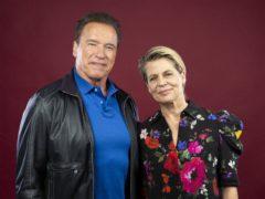 Arnold Schwarzenegger and Linda Hamilton (Willy Sanjuan/Invision/AP)