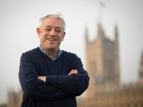 Former Commons Speaker John Bercow is to publish his memoirs in February 2020 (Stefan Rousseau/PA)