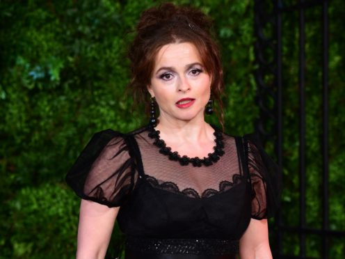 Helena Bonham Carter arriving for The Crown season three premiere (Ian West/PA)