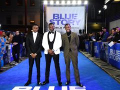Rapman at the premiere of Blue Story at the Curzon Mayfair cinema in London (Ian West/PA)
