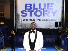 Rapman arriving at the premiere of Blue Story (PA)