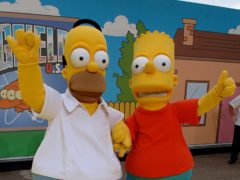 The tale of Springfield and the Simpson family is the longest-running scripted series in America (Joel Ryan/PA)