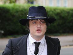 Pete Doherty (Barry Batchelor/PA)
