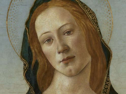 The painting was gifted by Gwendoline Davies to the National Museum Cardiff (BBC)