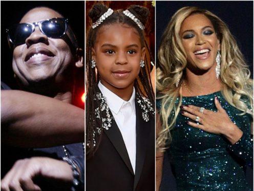 Jay-Z. Blue Ivy and Beyonce (Yui Mok/PA/Chris Pizzello/AP/Yui Mok/PA)