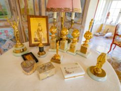 A collection of Doris Day's awards (Julien's Auctions/PA)