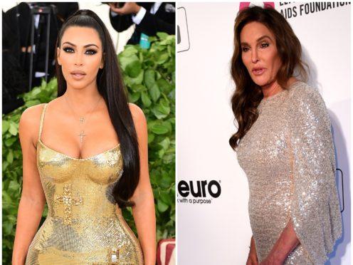 Kim Kardashian West has broken her silence on Caitlyn Jenner's I'm A Celebrity stint (PA Archive/PA)