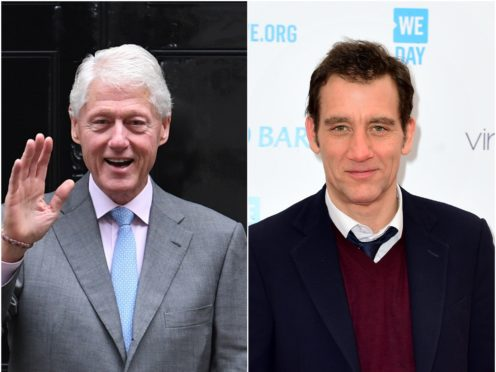 Clive Owen is set to play Bill Clinton in an upcoming TV drama (PA)