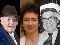 Lancashire cultural figures Sir Ian McKellen, Jeanette Winterson and the late Eric Morecambe (Matt Crossick/Fiona Hanson/PA)