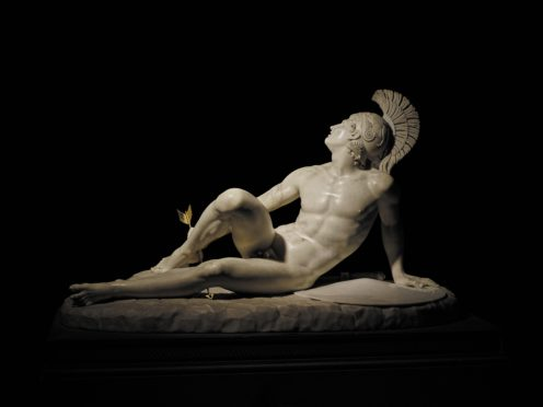 Filippo Albacini, The Wounded Achilles (The Devonshire Collections, Chatsworth. Reproduced by permission ofChatsworth Settlement Trustees)