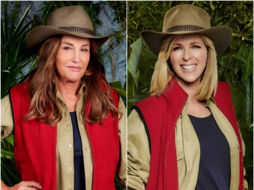 Caitlyn Jenner and Kate Garraway (ITV/PA)