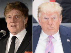 Veteran Hollywood actor Robert Redford has condemned Donald Trump's presidency (PA)