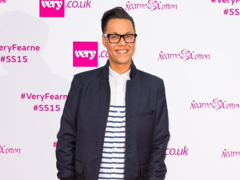 TV presenter Gok Wan said he is 'excited and humbled' to be recognised in the New Year Honours (Dominic Lipinski/PA)