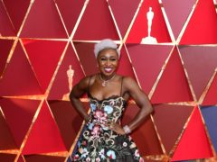 British actress Cynthia Erivo is set to be honoured with a prestigious film festival prize (Ian West/PA)