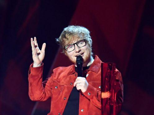 Ed Sheeran has announced a break from work (Victoria Jones/PA)