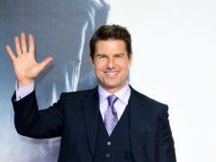 Tom Cruise stars in the trailer for Top Gun: Maverick (Ian West/PA)