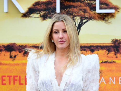 Ellie Goulding was among the celebrities to marry this year (Ian West/PA)