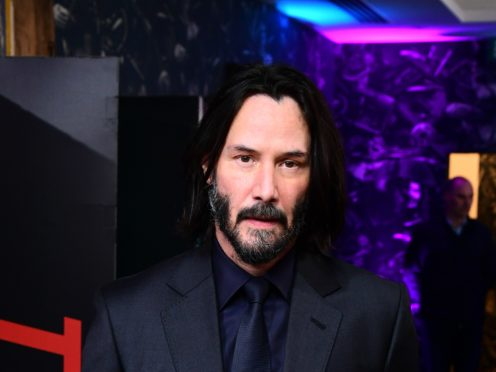 Fans have been given a most excellent first look at Keanu Reeves and Alex Winter in Bill & Ted Face The Music (Ian West/PA)