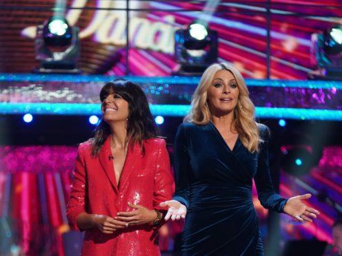 Strictly presenters Tess Daly and Claudia Winkleman (Kieron McCarron/BBC)