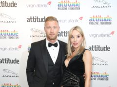 Andrew 'Freddie' Flintoff and wife Rachael (Matt Alexander/PA)
