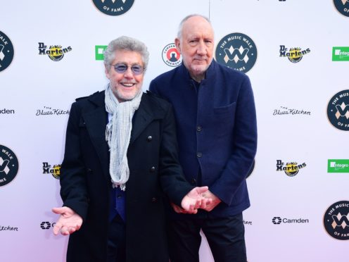Roger Daltrey and Pete Townshend (Ian West/PA)