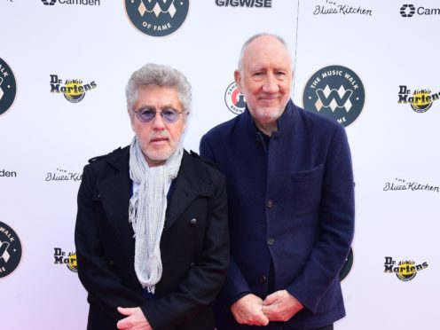 The Who could score first number one album in nearly half a century (Ian West/PA)