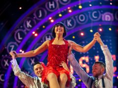 Emma Barton on Strictly Come Dancing (Guy Levy/BBC)