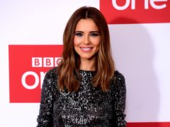 Cheryl has shared a rare picture of herself with son Bear (Ian West/PA)