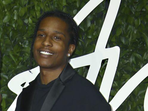 ASAP Rocky poses for photographers (Joel C. Ryan/AP)