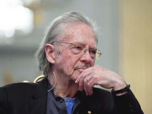 Peter Handke (Anders Wiklund/AP)